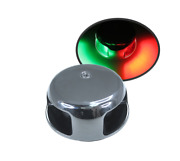 Pactrade Marine Horizontal Ss304 Navigation Light Led Green And Red Combo 65lm 12v