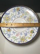 Hand Painted Nippon Footed Dish Asian Porcelain Japanese