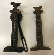 Auto Specialties Mfg Co 2 Car Truck Jacks For Repair Display Or Parts
