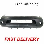 Front Bumper Cover Primed Fits 2005-2008 Nissan Frontier 2.5l Engine Ni1000225
