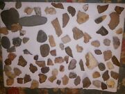 1- Indian Artifacts Ancient Native American Stone Tools Paleolithic Collection
