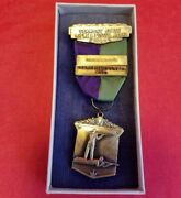 1954 Vermont State Rifle And Pistol Aggregate Marksman Class 2nd Shooting Medal