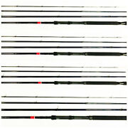 4 Each Band039nand039m Pow-r-troller Pt184 18and039 Trolling Crappie Rod Bnm Bandm