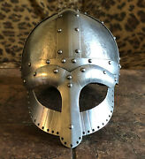 Viking Ocular Helmet For Re-enactors And Collectors Armor By Wulflund