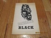 1971 Naturally Black - Brother Alfred Diggs Revolutionary Poet Chicago Pb