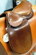 Millers Crosby 16 Excel H Plain Flap English Jumper Saddle Model 02461 New