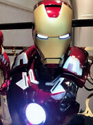 1/1 Iron Man Mk7 Bust Lighting Resin Model Ant Studio Collections In Stock