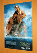 Spartan Total Warrior Old Advertising Small Poster Promo Ad Print Ps2 Gamecube.