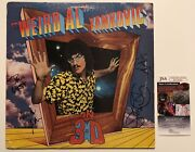 Weird Al Yankovic Signed Autographed In 3d Vinyl Lp Record Full Band Jsa Coa