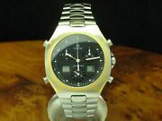 Omega Seamaster Polaris 18kt 750 Gold/stainless Steel Menand039s Watch / Ref 386.1231