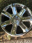 Cadillac Escalade Chrome Oem Gm Wheel Rims 4