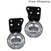 Set Of 2 Driver And Passenger Side Fog Lamp Assembly Fits Pontiac Grand Am