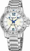 Raymond Weil Nabucco Automatic Gmt Gents Watch 3800-st-05657 - Rrp Andpound1595 New