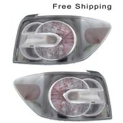 Tail Lamp Assembly Set Of 2 Driver And Passenger Side Fits Mazda Cx-7 2010-2012
