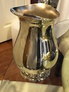 """Wm Roger's And Son Silver Water Pitcher 2317 Vintage And Ice Guard 9"""""""