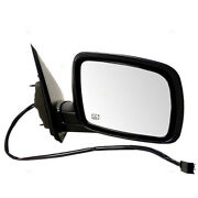 09-18 Journey R/t And Sxt Rear View Door Mirror Power Heated W/o Memory Right Side