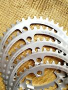 New Suntour Superbe Pro 43t 130 Bcd 3/32 Chainring For Road Bike Made In Japan