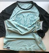 Chromag Mission Jersey 3/4 Sleeve Womenandrsquos Size Xl Granite Green