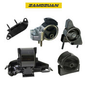 Engine Motor And Trans Mount 5pcs 1990-1992 For Toyota Corolla 1.6l Fwd For Manual