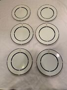 Swid Powell American Airlines Wessco Lot Of 6 Plates 473-pl-89 And 273-pl-90 F6