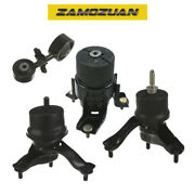 Engine Motor And Trans Mount Set 4pcs. 2004-2008 For Toyota Solara 2.4l For Auto.