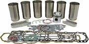 Engine Oerhaul Kit Diesel For Ford/new Holland 5000 5100 ++ Tractors