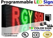 Business Hour Led Signs Wi-fi 7 X 25 Neon Open Store Shop Bar Text Display