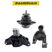 Motor And Trans Mount Set 3pcs For 10-13 Kia Forte Koup Forte5 2.0, 2.4l For Auto.