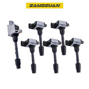 Oem Quality Ignition Coil 6pcs For 00-01 Pathfinder Qx4 Uf328 Cyl1 /uf331 Cyl2-6