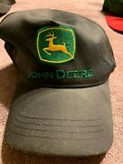 John Deere Memory-fit One-size Fitted Hat Black