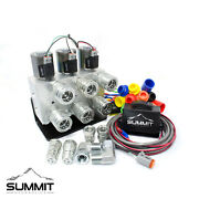 Universal Electric Dual Rear Remote Kit 12v Dc W/ 3-position Switch And Couplers