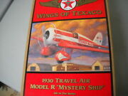 Collectible Wings Of Texaco 1930 Travel Air Model R Mystery Ship 5th In Series