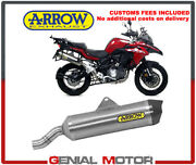 Exhaust Muffler Arrow Titan Approved Race Tail Pipe Carbo Benelli Trk 502 X 2019