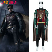 Young Justice Teen Titans Robin Dick Grayson Cosplay Costume Full Set Lot
