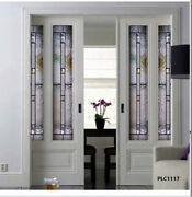 Beautiful Interior Stained Glass Doors .pocket Barn Or Hinged Style Plc1117