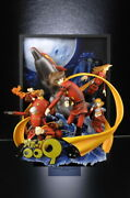 Real Artwork Series Happinet Cyborg 009 Ver.solid Poster Art Limited Wery Rare.