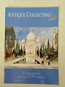 Antique Collecting 1997 Hercules Brabazon Mauchline Ware Ivory Relief Carvings