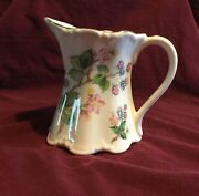 Floral St George Fine Bone China Miniature Pitcher Made In England