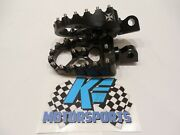 Wide Foot Pegs For Harley Dyna Sportster Hooligan Flat Track