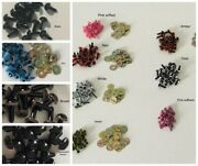 Plastic Eyes For Bears, Fishing Lures Etc, Metal Washers, 12 Colors, 4, 6, 7.5mm