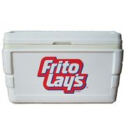 Vintage 1993 Large Igloo Cooler Frito Lay's Logo Branded Food Advertising 90s