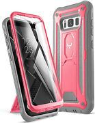 Kickstand Case For Galaxy S8 Full Body With Built-in Screen Protector