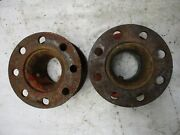 Ford 600 700 800 900 601 701 801 901 Early 2000 4000 Tractor Rear Wheel Spacers
