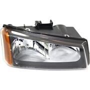 Gm2503257 Headlight Lamp Right Hand Side For Chevy Avalanche Passenger Rh 1500