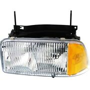 Headlight Lamp Left Hand Side Driver Lh For Gmc Sonoma Jimmy Gm2502133 16525157