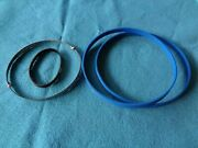 Blue Max Band Saw Tires 1/4 Band Saw Blade And Drive Belt For Shopmaster Bs100