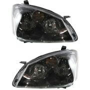 Hid Headlight Lamp Left-and-right Hid/xenon Lh And Rh For Nissan Altima 2005-2006