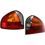 Hy2800125, Hy2801125 Tail Lights Lamps Set Of 2 Left-and-right Lh And Rh Pair