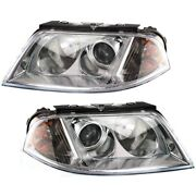 Headlight Lamp Left-and-right For Vw Vw2502118, Vw2503118 Lh And Rh Passat 01-05