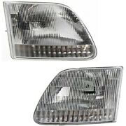 Headlight Lamp Left-and-right For F150 Truck F250 Fo2503139 Fo2502139 Lh And Rh